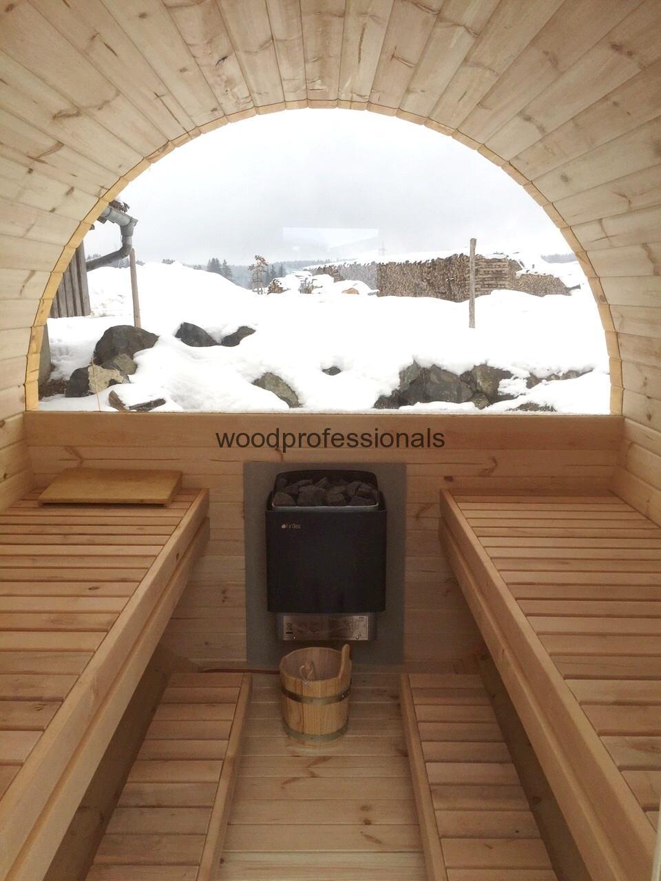 Sauna Barrel 4 8 M 216 1 97 M Woodprofessionals Lt