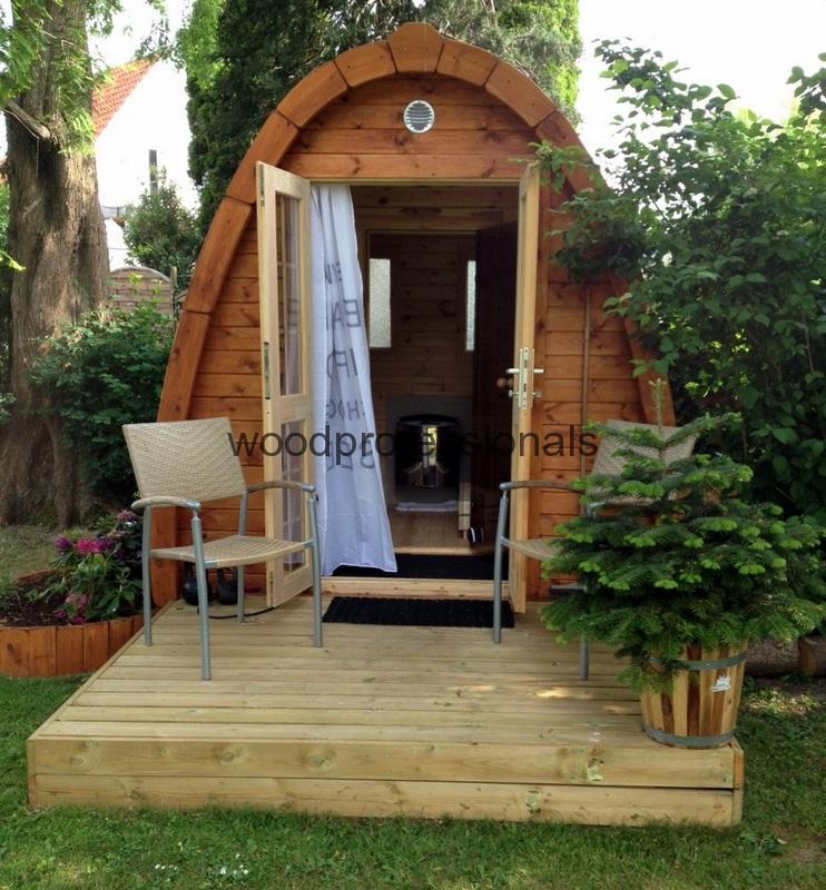 Sauna Pod 3 5 M Woodprofessionals Lt